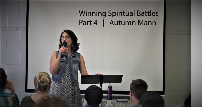 Winning Spiritual Battles: Part 4  Eyes to See