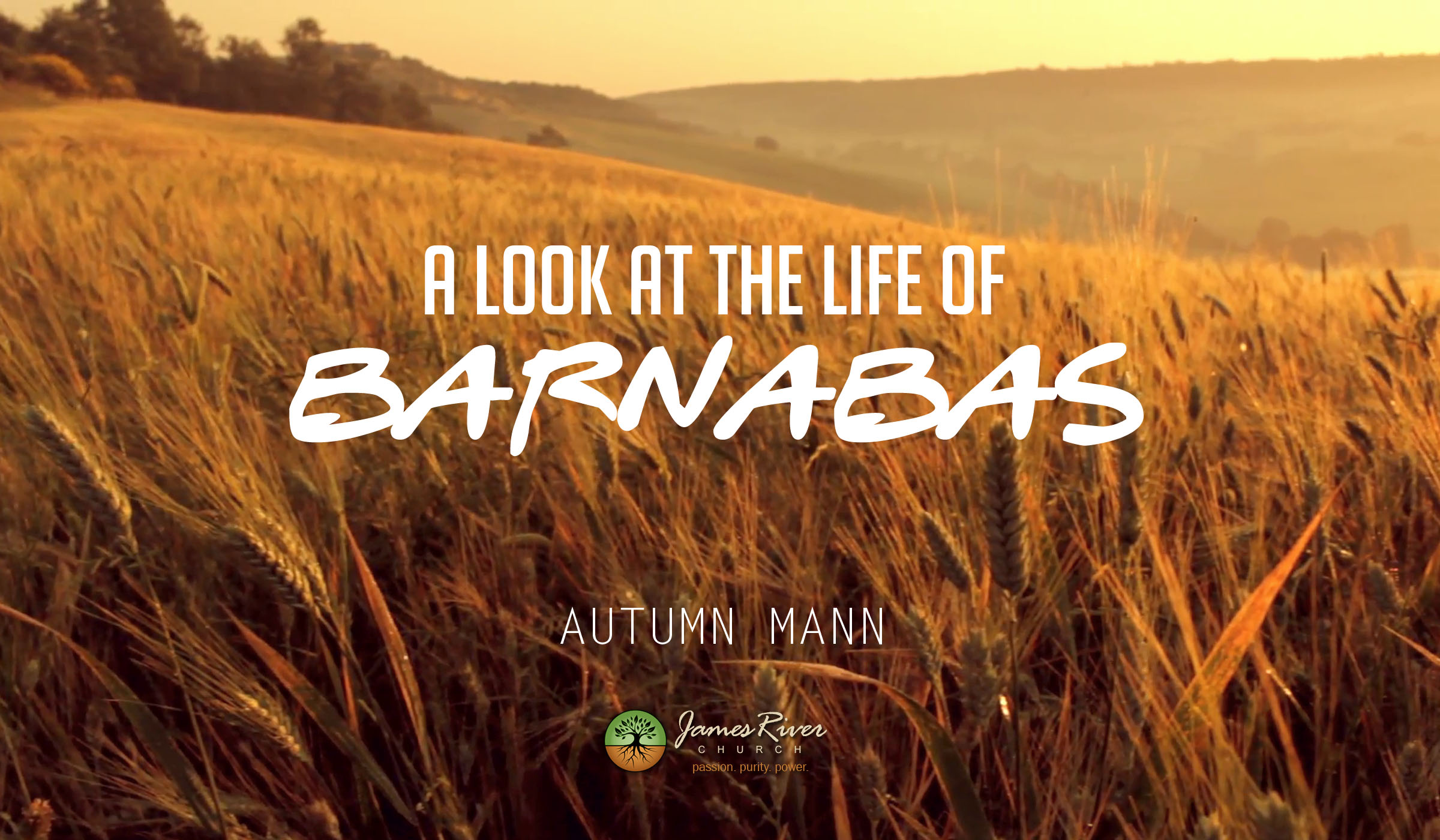 A Look at the Life of Barnabas
