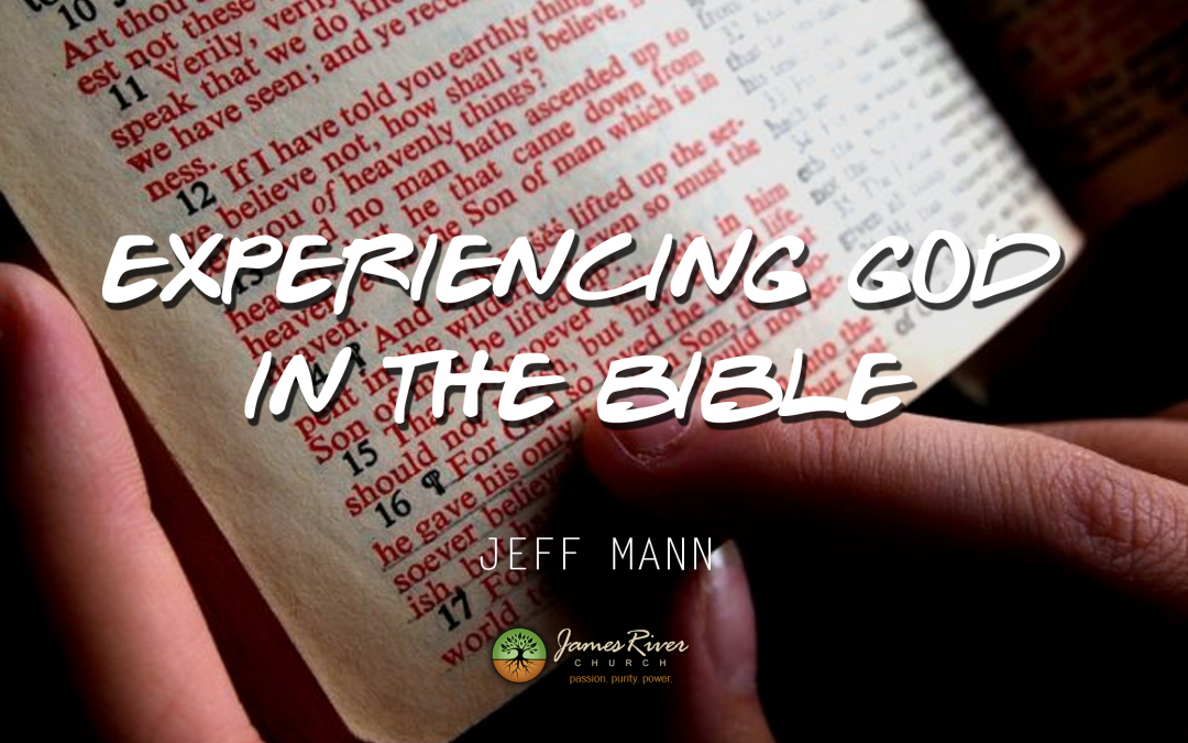 Experiencing God In The Bible