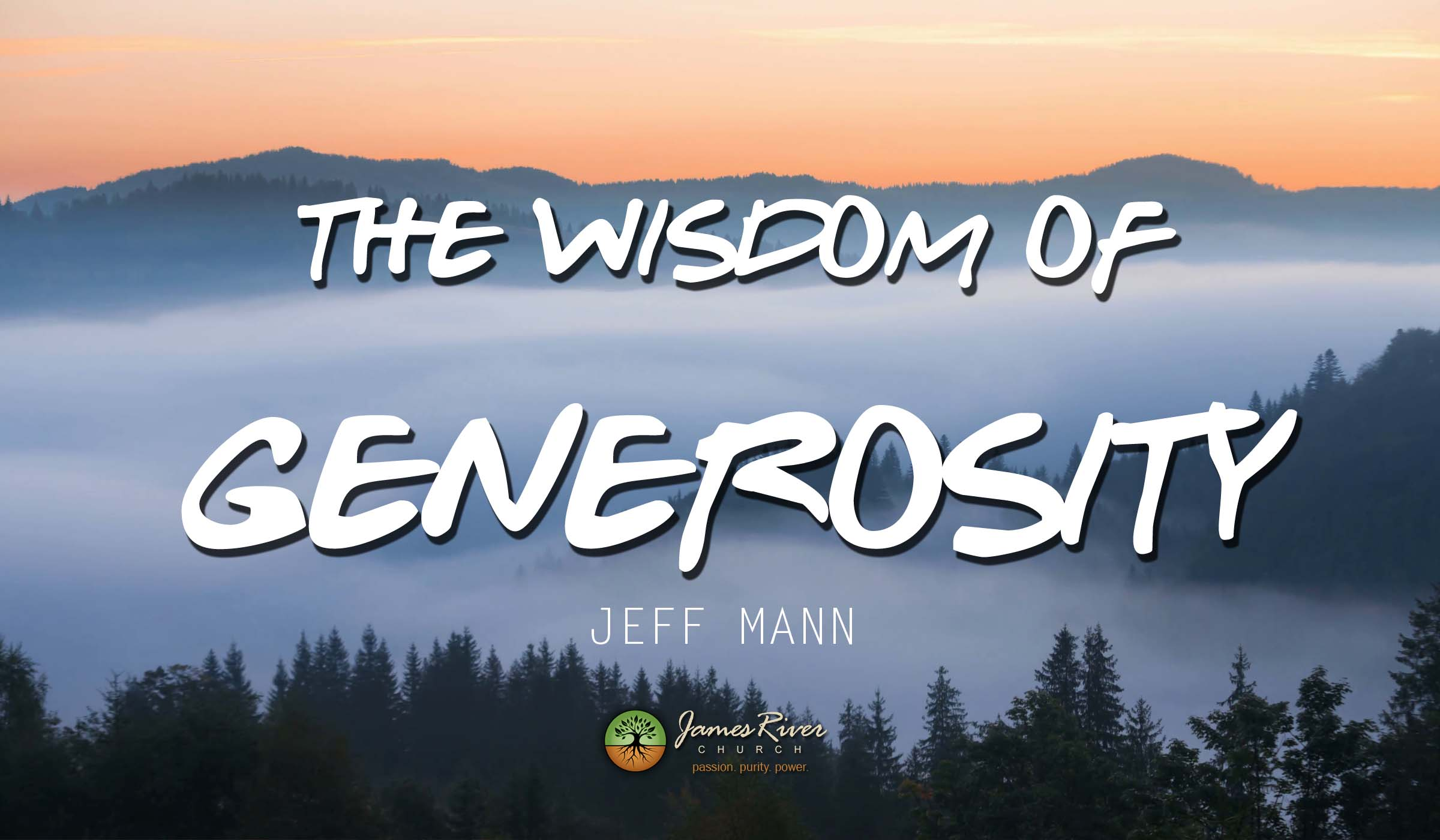 The Wisdom Of Generosity